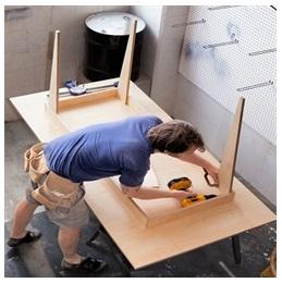 Сборка столов по низким ценам в Подольске от специалистов