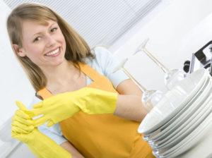 Мойка посуды на дому в Подольске